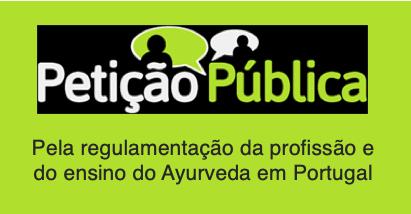 REGULAMENTAÇÃO DA PROFISSÃO E DO ENSINO DO AYURVEDA EM PORTUGAL